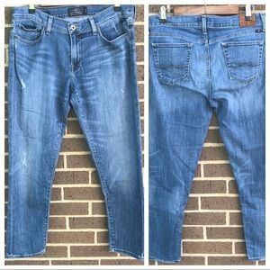 Lucky Brand Sienna Cigarette Jeans Mid Rise Jeans